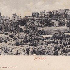 Postales: SANTANDER, SARDINERO LA COSTA . ED. RÖMMLER & JONAS DRESDEN. REVERSO SIN DIVIDIR. CIRCULADA EN 1907. Lote 243910885