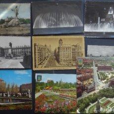 Postales: 10 POSTALES DE MADRID DIVERSOS AÑOS , LA MAYORÍA CIRCULADAS, VER FOTOS REVERSO. Lote 244811865