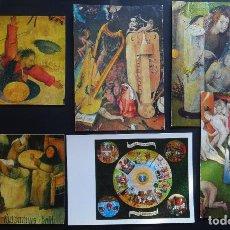 Postales: 6 POSTALES DE EL BOSCO, DEL AÑO 1974, SIN CIRCULAR. Lote 244812305