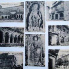 Postales: COLECCION DE 25 POSTALES DE SANTILLANA DEL MAR (SANTANDER). Lote 246616625