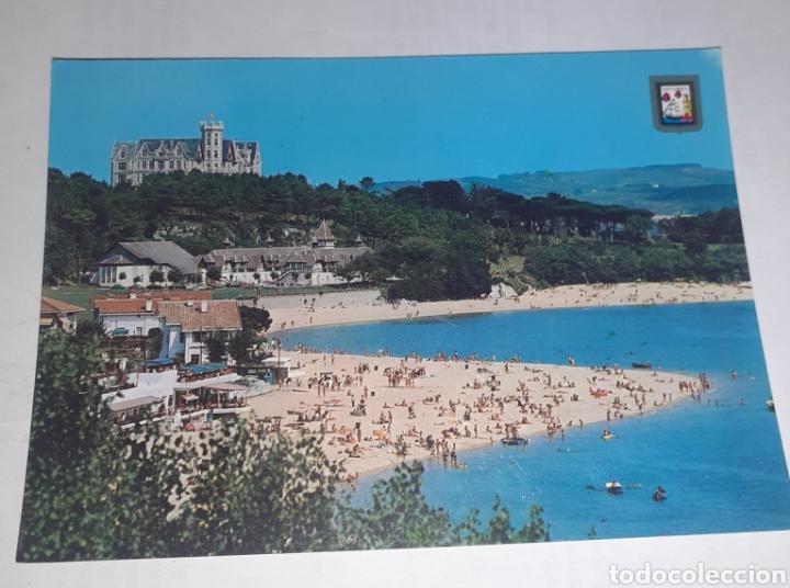 SANTANDER (CANTABRIA)PLAYA DE MAGDALENA (Postales - España - Cantabria Antigua (hasta 1.939))