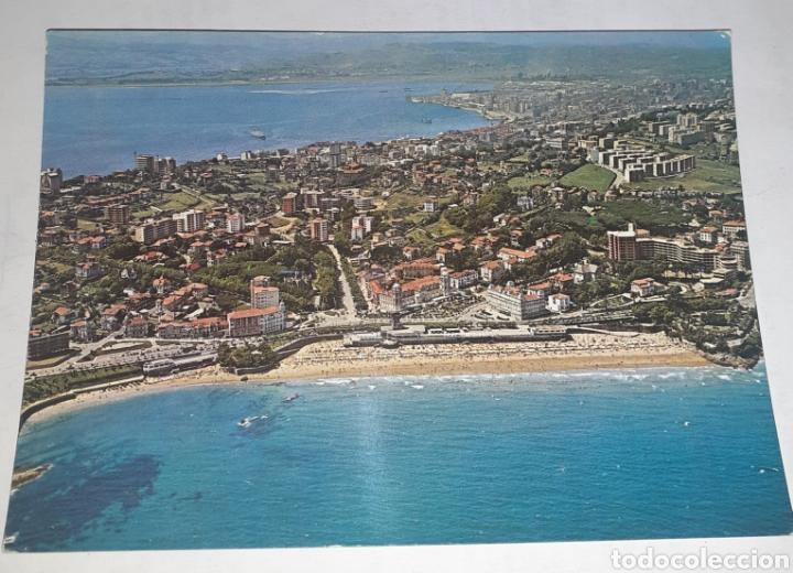 SANTANDER EL SARDINERO. VISTA AÉREA (Postales - España - Cantabria Antigua (hasta 1.939))