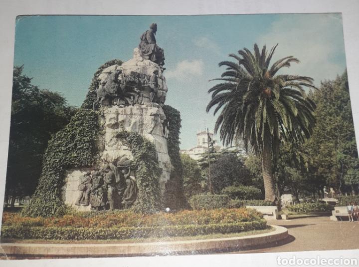 SANTANDER MONUMENTO A JOSÉ M DE PEREDA (Postales - España - Cantabria Antigua (hasta 1.939))