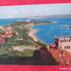 Postales: POSTAL DE SANTANDER. # 9. PENINSULA DE LA MAGDALENA. EDICION BARCELONA. AÑO 1967 SIN CIRCULAR. Lote 252973020