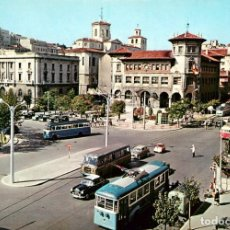 Cartoline: EM0287 SANTANDER AVENIDAS ALFONSO XIII Y CALVO SOTELO 1959 MERCEDES 220 SEAT 1400 BMW ISETTA 300. Lote 253130345