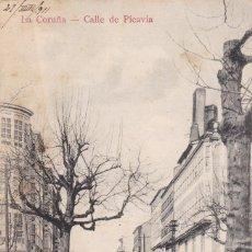 Postales: LA CORUÑA, CALLE DE PICAVIA. ED. PC. ESCRITA EN 1911. Lote 253919595