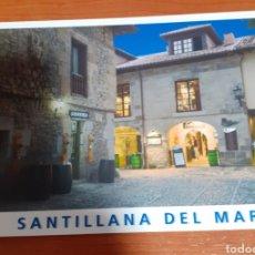 Postales: CASA DE LOS HOMBRONES SANTILLANA DEL MAR. Lote 254631145