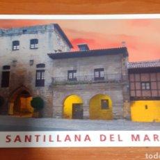 Postales: TORRE DE D.BORJASEDE DE LA FUNDACIÓN SANTILLANA. Lote 254632130