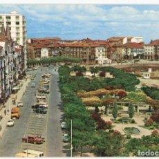 Postales: EM0551 CASTRO URDIALES AV GENERALISIMO Y PARQUE DE AMESTOY 1967 GARRABELLA Nº9 COCHES. Lote 255340425
