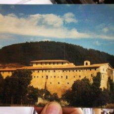 Postales: POSTAL MONTEHANO ESCALANTE CANTABRIA CONVENTO DE P.P. CAPUCHINOS LEVANTADO EN 1421 VISTA PANORÁMICA. Lote 255424515