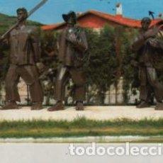 Postales: POSTAL DE LAREDO - MONUMENTO AL PESCADOSR Nº 9 DE ALARDE 1966. Lote 255429195