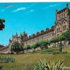Postales: ANTIGUA POSTAL DE COMILLAS CIRCULADA. Lote 257713600