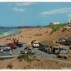 Postales: EM0646 NOJA PLAYA DE RIS 1967 ARRIBAS Nº2003 SEAT 600 RENAULT 8 SIMCA 1000 GORDINI. Lote 257914165
