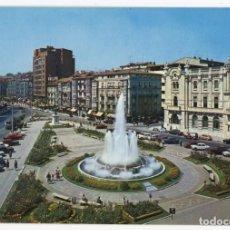 Cartes Postales: EM0650 SANTANDER PLAZA DEL GENERALISIMO 1968 ESCUDO DE ORO Nº93 CITROEN DS SEAT 600 RENAULT 8. Lote 257914665