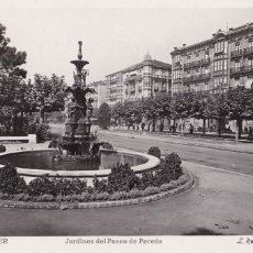 Cartes Postales: SANTANDER, JARDINES DEL PASEO DE PEREDA. ED. ROISIN Nº 9. POSTAL FOTOGRAFICA SIN CIRCULAR. Lote 258770860