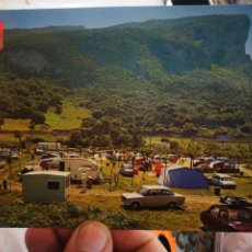 Postales: POSTAL ISLARES SANTANDER VISTA PARCIAL DEL CAMPING PLAYA ARENILLAS PEÑON N 13 DOMÍNGUEZ S/C. Lote 261582615