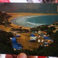 Postales: POSTAL ISLARES SANTANDER VISTA PARCIAL DEL CAMPING ARENILLAS LA PLAYA N 2 DOMÍNGUEZ S/C. Lote 261584070