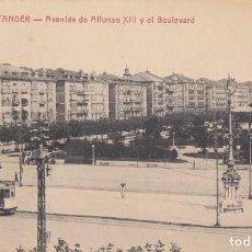 Postais: (2171) POSTAL SANTANDER - AVENIDA ALFONSO XIII Y EL BOULEVARD - 2011 ED. V.POBLADOR - S/CIRCULAR. Lote 262813305