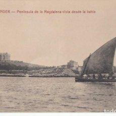 Postais: (2175) POSTAL SANTANDER - PENINSULA MAGDALENA VISTA DESDE LA BAHIA -1319 ED. V.POBLADOR - S/CIRCULAR. Lote 262813615