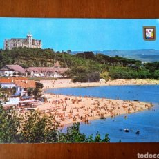 Postales: POSTAL SANTANDER. CANTABRIA.PLAYA DE LA MAGDALENA. CIRCULADA.. Lote 263013260