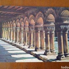 Postales: POSTAL SANTILLANA. SANTANDER. COLEGIATA. CLAUSTRO. ESCRITA, SIN CIRCULAR.. Lote 263014715