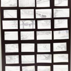 Postais: SANTANDER - 38 CLICHES ORIGINALES - NEGATIVOS EN CELULOIDE - EDICIONES ARRIBAS. Lote 264198172