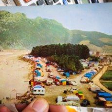 Postales: POSTAL ORIÑON CAMPING INTERNACIONAL DE ORIÑÓN N 2041 ARRIBAS ESQUÍNAS PELÍN TOCADAS. Lote 267340294