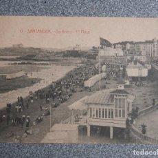 Postales: SANTANDER CANTABRIA SARDINERO 1ª PLAYA - POSTAL ANTIGUA EDICIÓN J. PALACIOS. Lote 267550564