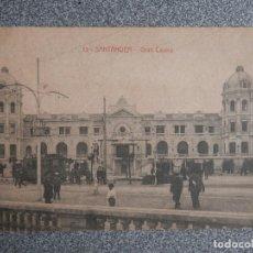 Postales: SANTANDER CANTABRIA GRAN CASINO - POSTAL ANTIGUA EDICIÓN J. PALACIOS. Lote 267551279