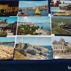 Postales: LOTE DE 9 POSTALES AÑOS 60 ( SANTANDER ) EDICIONES: ARRIBAS, ALSAR, GARRABELLA, ALARDE, DOMINGUEZ. Lote 268471674
