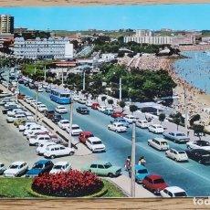 Postales: POSTAL - SARDINERO, VISTA DE LAS PLAYAS 1ª Y 2ª - SANTANDER (CANTABRIA) FOTO ALSAR. Lote 268827554