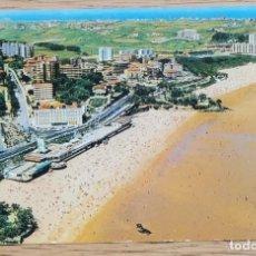 Postales: POSTAL - VISTA AÉREA DEL SARDINERO - SANTANDER (CANTABRIA) DOMÍNGUEZ.. Lote 268827844