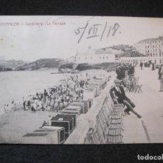 Postales: SANTANDER-SARDINERO-LA TERRAZA-POSTAL ANTIGUA-(81.973). Lote 271406118