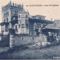 Postales: SANTANDER (CANTABRIA) - CASA MONTAÑESA. Lote 271914253