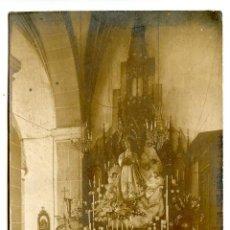 Postais: CABEZÓN DE LA SAL, RECUERDO DE LA NOVENA DE LAS HIJAS DE MARÍA, 1912 POSTAL FOTOGRÁFICA. Lote 272451203