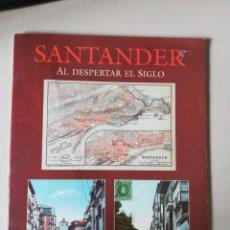 Postales: SANTANDER AL DESPERTAR EL SIGLO . 24 TARJETAS POSTALES COLOR. 1993. Lote 275244243