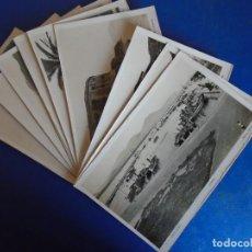 Postales: (PS-66087)LOTE DE 10 POSTALES FOTOGRAFICAS DE SANTOÑA-FOTO ROISIN. Lote 276912338