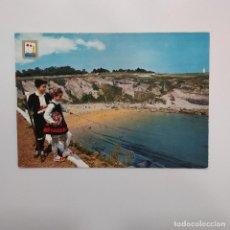 Postales: POSTAL SANTANDER. PLAYA DE MATALEÑAS (CANTABRIA). 1963. SIN ESCRIBIR. DOMINGUEZ Nº 40. Lote 277622208