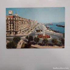 Postales: POSTAL SANTANDER. AVENIDA CASTELAR Y PUERTO CHICO (CANTABRIA). 1963. SIN ESCRIBIR. DOMINGUEZ Nº 1. Lote 277623058