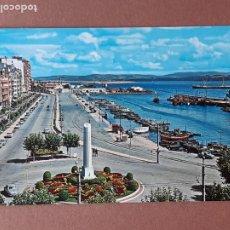 Postales: POSTAL 14 ALSAR. PASEO DE CASTELAR Y PUERTOCHICO. SANTANDER. CANTABRIA. 1967. SIN CIRCULAR.. Lote 277634438