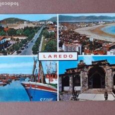 Postales: POSTAL 61 PERSA. DETALLES DE VISTAS PARCIALES. LAREDO. CANTABRIA. 1967. SIN CIRCULAR.. Lote 277637293