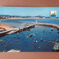 Postales: POSTAL 27 FOTO CARMELO. PUERTO Y PLAYA. LAREDO. CANTABRIA. 1970. SIN CIRCULAR.. Lote 277639538