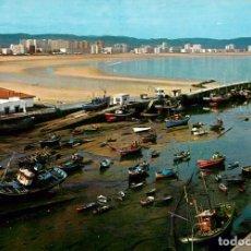 Postales: EM1279 LAREDO PUERTO PESQUERO Y PLAYA 1967 ESCUDO DE ORO Nº9. Lote 277677268