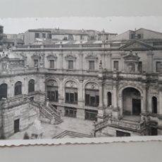 Postales: TARJETA POSTAL SANTANDER CANTABRIA EDICIONES DARVI NÚMERO 30 BIBLIOTECA SELLADA AÑO 1955. Lote 277717623