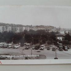 Postales: TARJETA POSTAL SANTANDER CANTABRIA SIN EDITORIAL ESPECIFICADA AÑOS 30 JARDÍN DEL BOULEVARD. Lote 277717798