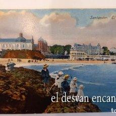 Postales: SANTANDER. EL SARDINERO. Lote 277764813