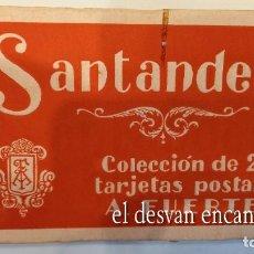 Postales: SANTANDER. BLOC COLEC. DE 20 POSTALES A. FUERTES. Lote 277765338