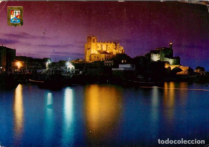 EM1772 CASTRO URDIALES VISTA NOCTURNA 1977 FISA Nº29 (Postales - España - Cantabria Moderna (desde 1.940))