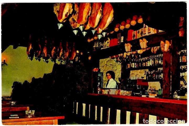 COSGAYA (CANTABRIA) - BAR MESÓN DEL OSO - FOTO: BUSTAMANTE - 150X105 MM - INÉDITA EN TODOCOLECCIÓN (Postales - España - Cantabria Moderna (desde 1.940))