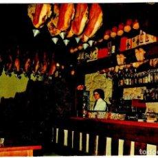 Postales: COSGAYA (CANTABRIA) - BAR MESÓN DEL OSO - FOTO: BUSTAMANTE - 150X105 MM - INÉDITA EN TODOCOLECCIÓN. Lote 278920598